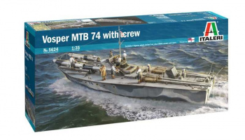 Vosper MTB 74 with crew (1:35) Model Kit 5624 - Italeri