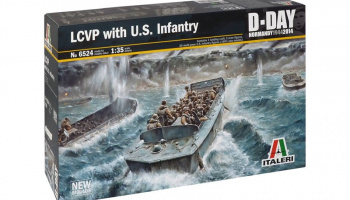 LCVP with US INFANTRY (1:35) - Italeri