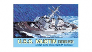 Model Kit loď 7044 - U.S.S. MUSTIN DDG-89 (1:700)