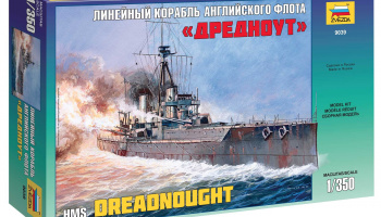 "Model Kit loď 9039 - Battleship ""Dreadnought"" (1:350)"