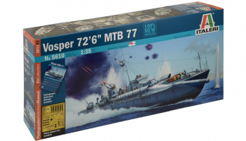 VOSPER 72''6' MTB 77 (1:35) Model Kit 5610 - Italeri