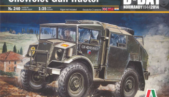 Model Kit military 0240 - Chevrolet Gun Tractor (1:35)