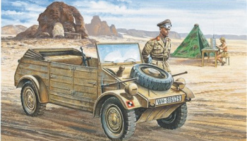 Model Kit military 0312 - VW Typ 82 KUBELWAGEN (1:35) – Italeri