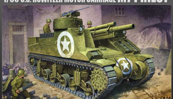 Model Kit military 13210 - M7 PRIEST (1:35)