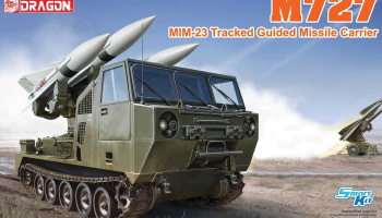 M727 MIM-23 Tracked Guided Missile Carrier (1:35) Model Kit military 3583 - Dragon