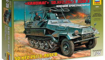 Model Kit military 3604 - Sd.Kfz.251/3 Ausf.B Radio Car (1:35)