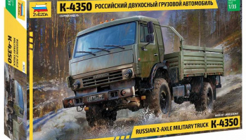Model Kit military 3692 - Russian 2 Axle Military Truck K-4326 (1:35) - Zvezda