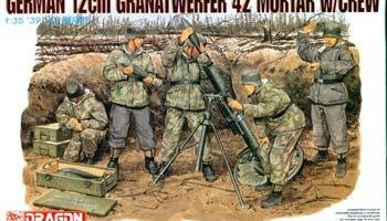 Model Kit military 6090 - GERMAN 12cm GRANATWERFER (1:35)