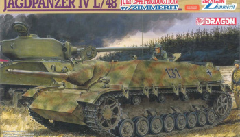 Model Kit military 6369 - JAGDPANZER IV L/48 (1:35)