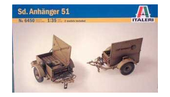 Model Kit military 6450 - SD. ANHANGER (1:35)