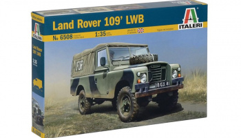 LAND ROVER 109' LWB  Model Kit (1:35) - Italeri