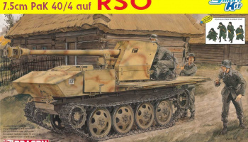 Model Kit military 6640 -7.5cm PaK 40/4 auf RSO (1:35)