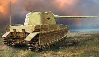 Model Kit military 6824 - Pz.Kpfw.IV mit Panther F Turret (1:35)