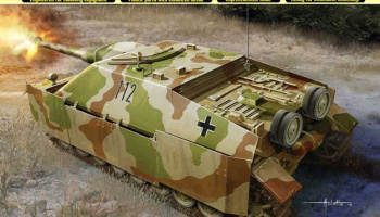 Sd.Kfz.162 Jagdpanzer IV A-0 (1:35) Model Kit military 6843 - Dragon