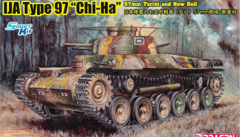 "Model Kit military 6875 - IJA Type 97 ""Chi-Ha"" w/57mm Gun and New Hull (1:35)"