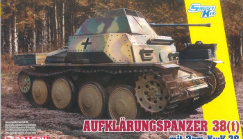 Model Kit military 6890 - Aufklarungspanzer 38(t) mit 2cm Kw.K.38 (Smart Kit) (1:35)