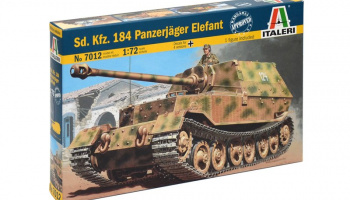 Model Kit military 7012 - Sd. Kfz. 184 Panzerjager Elefant (1:72)
