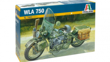 WLA 750 (1:9) Model Kit 7401 - Italeri