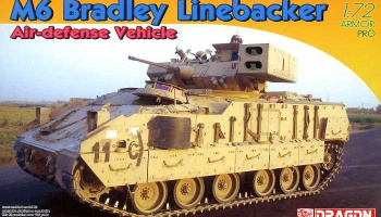 M6 Bradley Linebacker Air-defense Vehicle (1:72) – Dragon