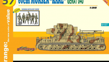 "Model Kit military 9157 - German Super-Heavy Self-Propelled Mortar 60cm Mörser ""Karl"" Gerät 040 (1:35)"