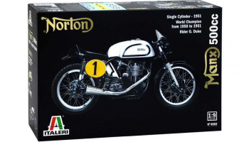 NORTON MANX 500cc 1951 (1:9) Model Kit 4602 - Italeri