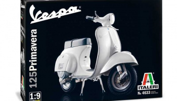 VESPA 125 PRIMAVERA (1:9) Model Kit 4633 - Italeri