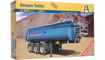 DUMPER TRAILER (1:24) Model Kit 3845 - Italeri