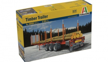 TIMBER TRAILER - Italeri