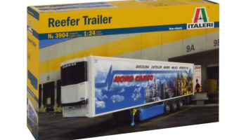 REEFER TRAILER (1:24) Model Kit 3904 - Italeri