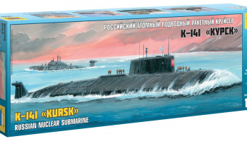 "Model Kit ponorka 9007 - Nuclear Submarine APL ""Kursk"" (1:350)"