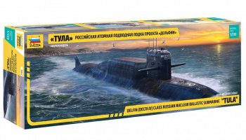 "Model Kit ponorka 9062 - ""Tula""Submarine Delfin/Delta IV Class (1:350)"