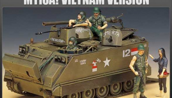 Model Kit tank 13266 - M113A1 VIETNAM VERSION (1:35)