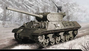 "Model Kit tank 13501 - M36/M36B2 ""Battle of the Bulge"" (1:35)"