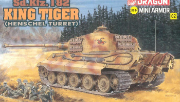 Model Kit tank 14102 - Kingtiger Henschel (1:144)