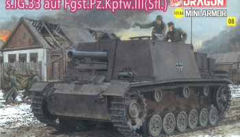 Model Kit tank 14112 - s.IG.33 auf Fgst.Pz.III (1:144)