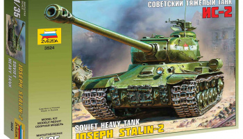 Model Kit tank 3524 - Josef Stalin-2 Soviet Heavy Tank (1:35)