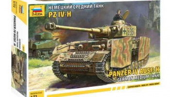 Model Kit tank 5017 - Panzer IV Ausf.H (1:72)