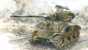 Model Kit tank 6083 - M4A1(76)W OPERATION COBRA (1:35)