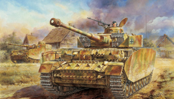 Model Kit tank 6300 - Pz.Kpfw.IV Ausf.H LATE PRODUCTION (SMART KIT) (1:35)