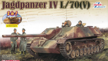 Jagdpanzer IV L/70(V) (1:35) Model Kit 6498 - Dragon