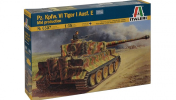 Model Kit tank 6507 - Pz.Kpfw.VI TIGER I Ausf.E mid production (1:35)