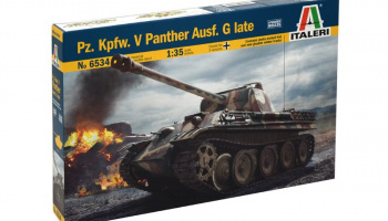 Model Kit tank 6534 - Pz.Kpfw. V Panther Ausf. G late (1:35)
