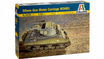 Model Kit tank 6538 - 90mm Gun Motor Carriage M36B1 (1:35)