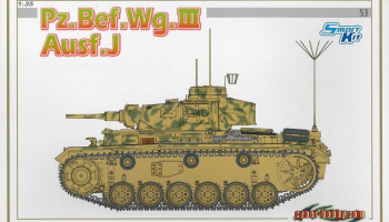 Model Kit tank 6544 - Pz.Bef.Wg.III Ausf.J (SMART KIT) (1:35)