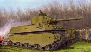 Model Kit tank 6789 - M6-A1 HEAVY TANK (1:35)