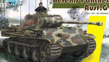 Pz.Bef.Wg.V Panther Ausf.G (Smart Kit) (1:35) Model Kit 6847 - Dragon