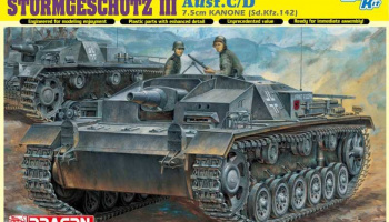 STURMGESCHÜTZ 7.5cm KANONE (Sd.Kfz.142) Ausf.C/D (Smart Kit) 1:35 Model Kit 6851 - Dragon