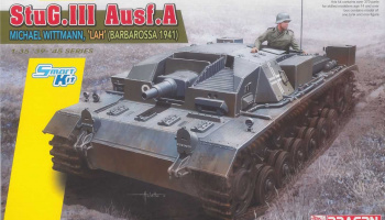 Model Kit tank 6860 - StuG.III Ausf.A, Michael Wittmann, 'LAH' (Smart Kit) (1:35)