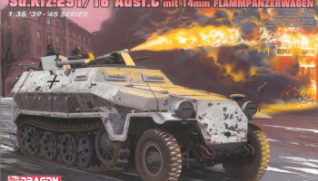 Model Kit tank 6864 - Sd.Kfz.251/16 Ausf.C Flammpanzerwagen (1:35)