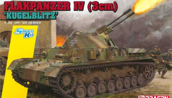 Model Kit tank 6889 - Flakpanzer IV (3cm) 'Kügelblitz' (Smart Kit) (1:35)